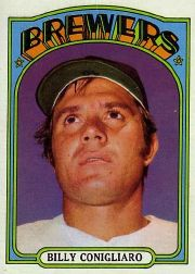 1972 Topps Baseball Cards      481     Billy Conigliaro